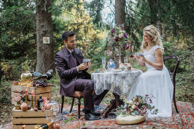 Inspiration Hochzeit Alice in Wunderland