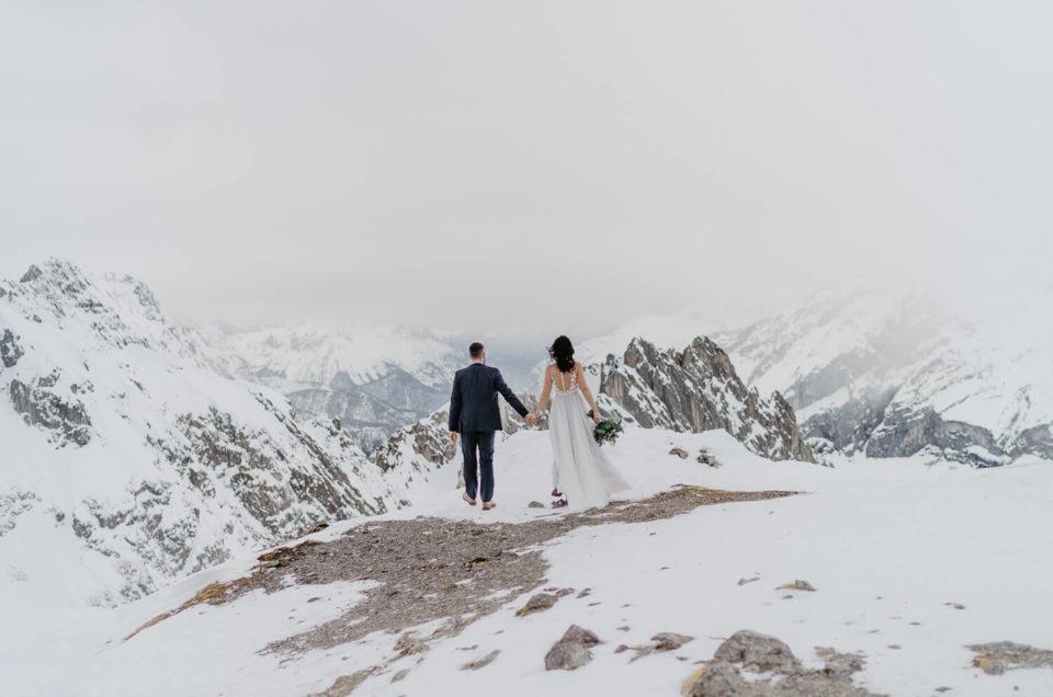 After Wedding Shooting Innsbruck Hochzeit Hafelekar