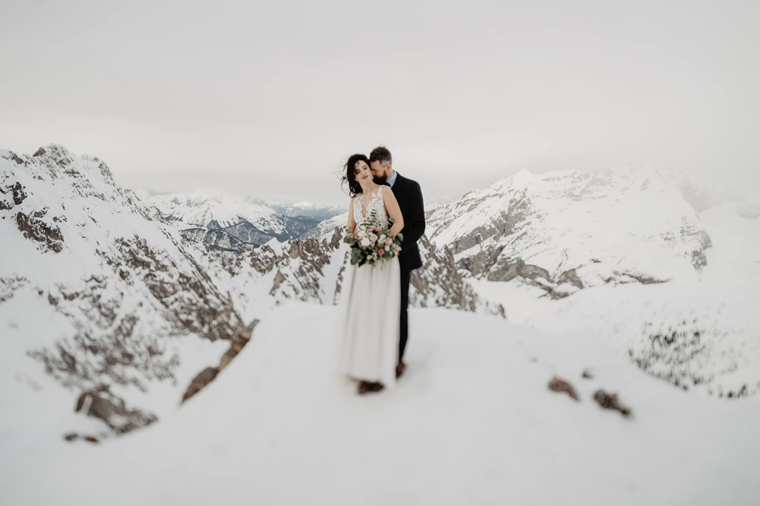 After Wedding Shooting Innsbruck Hochzeit Hafelekar