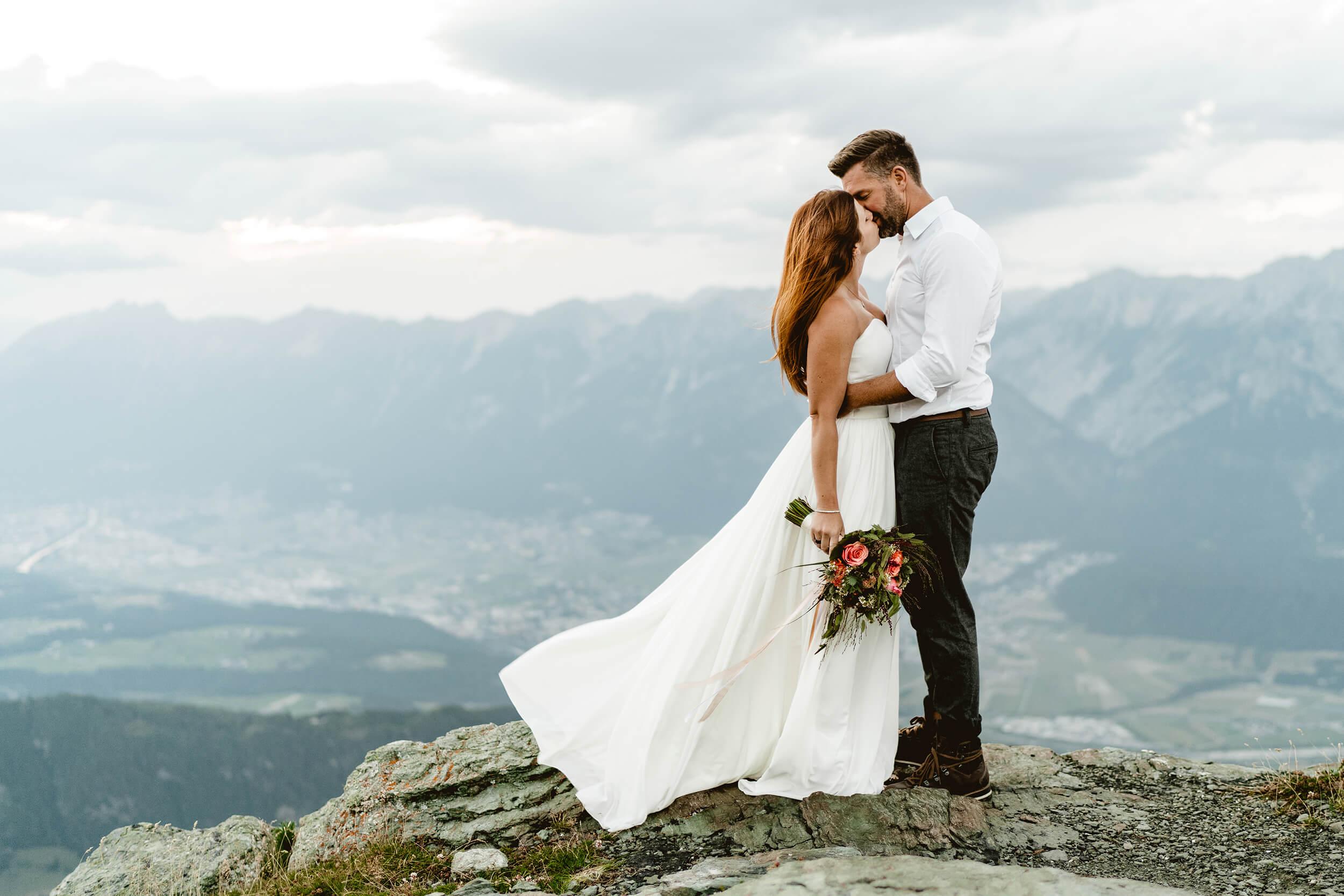 Berghochzeit Hochzeitsfotograf Fotograf Tirol
