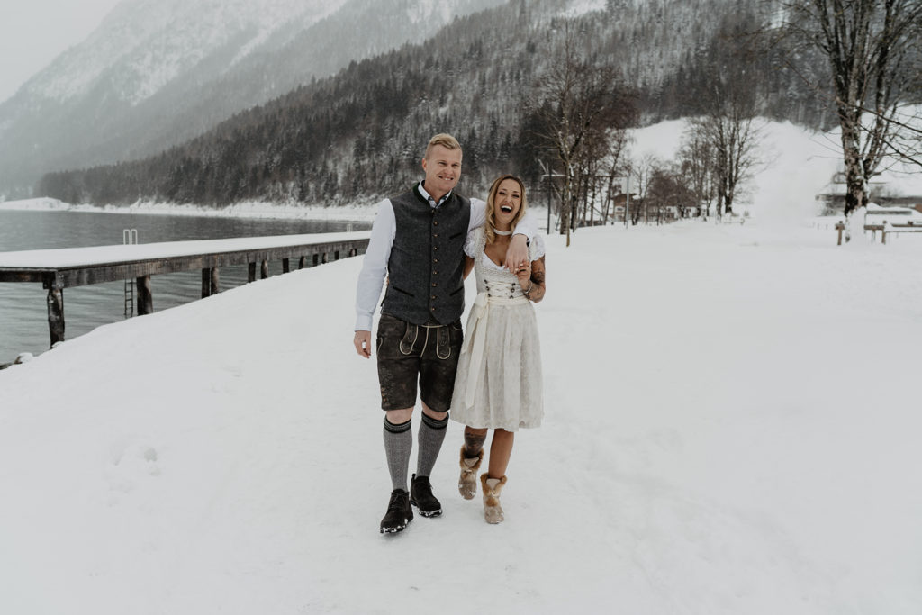Winterhochzeit Standesamt Hall Achensee Pertisau
