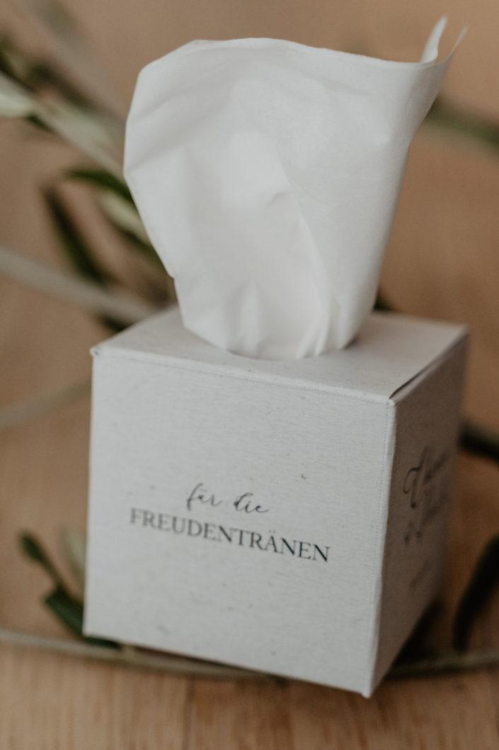 Hochzeitspapeterie Hochzeitseinladung Taschentücher