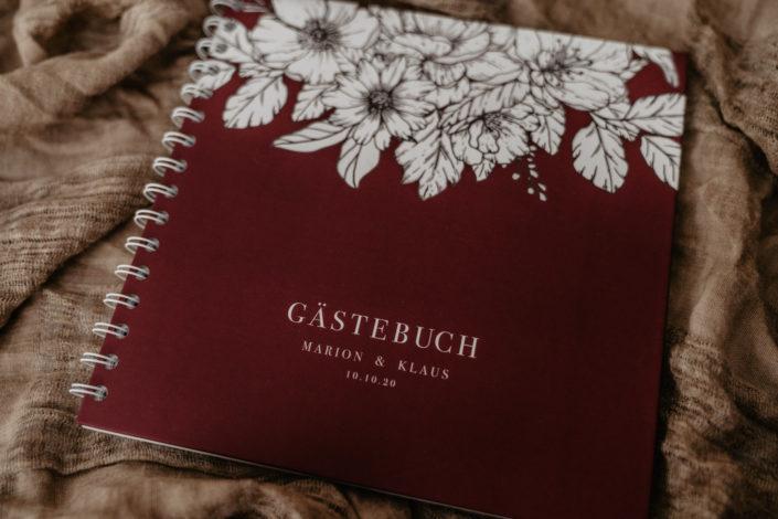Hochzeitspapeterie Hochzeitseinladung Gästebuch