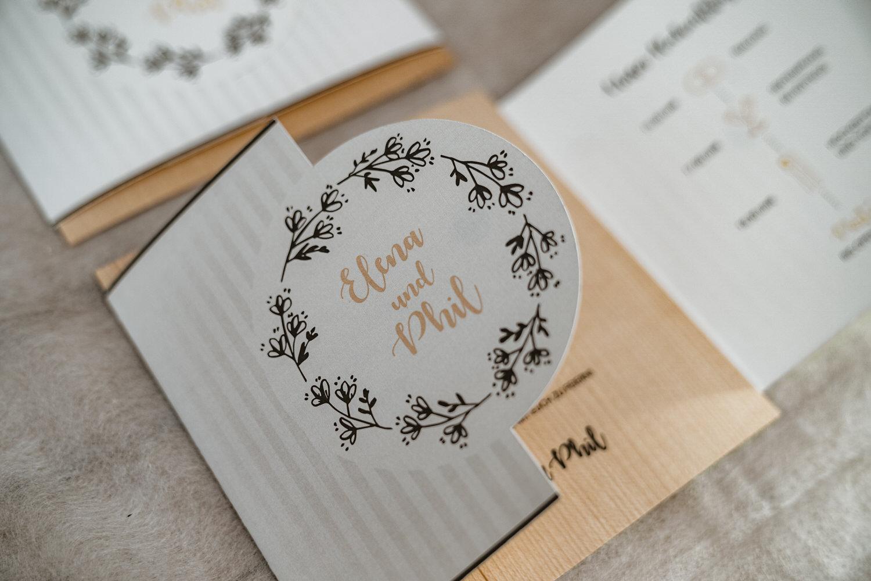 Hochzeitspapeterie Hochzeitseinladungen Tirol