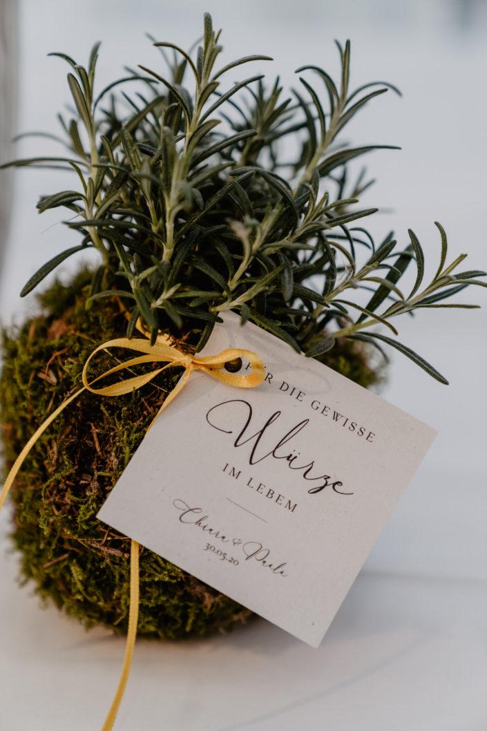 Gastgeschenk Hochzeitspapeterie Ariane Frötscher