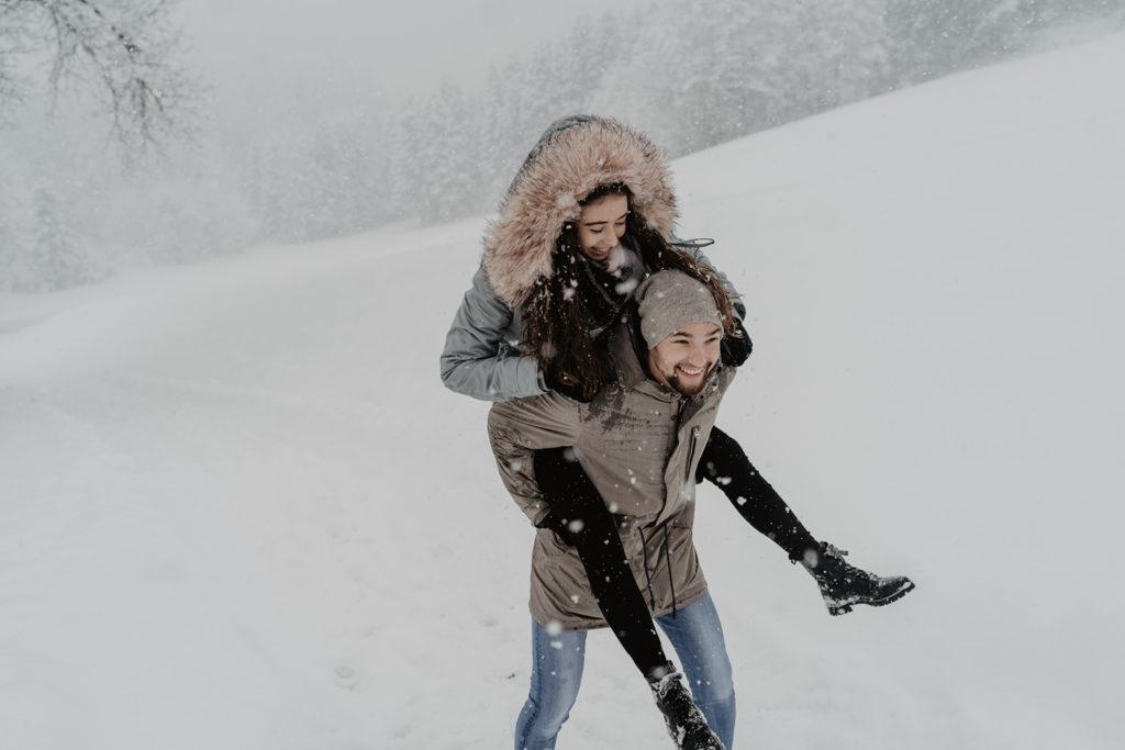 Paarshooting Winter Mils Baumkirchen