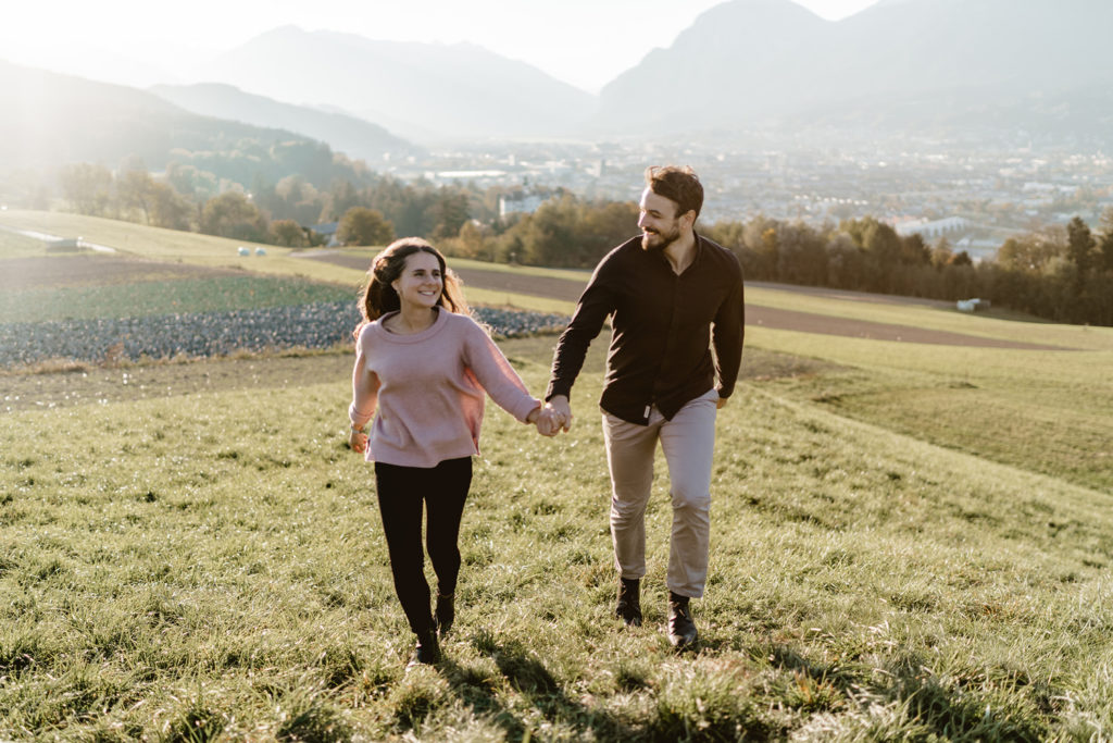Verlobungsshooting Paarshooting Innsbruck Aldrans