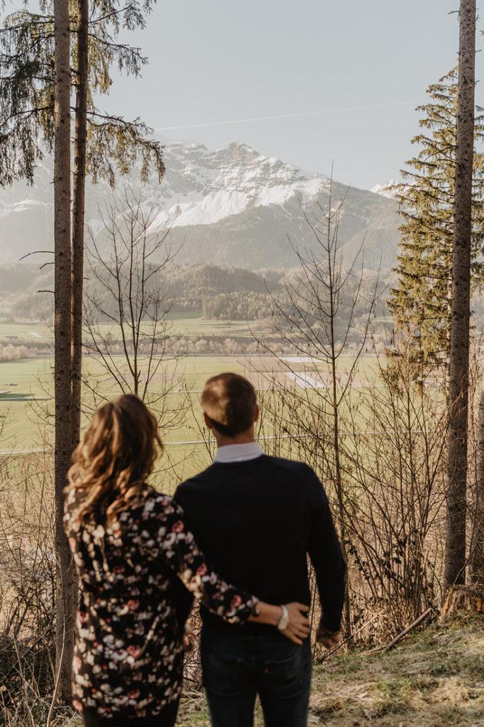 Paarshooting Verlobungsshooting Wattens Volders Fotograf Tirol