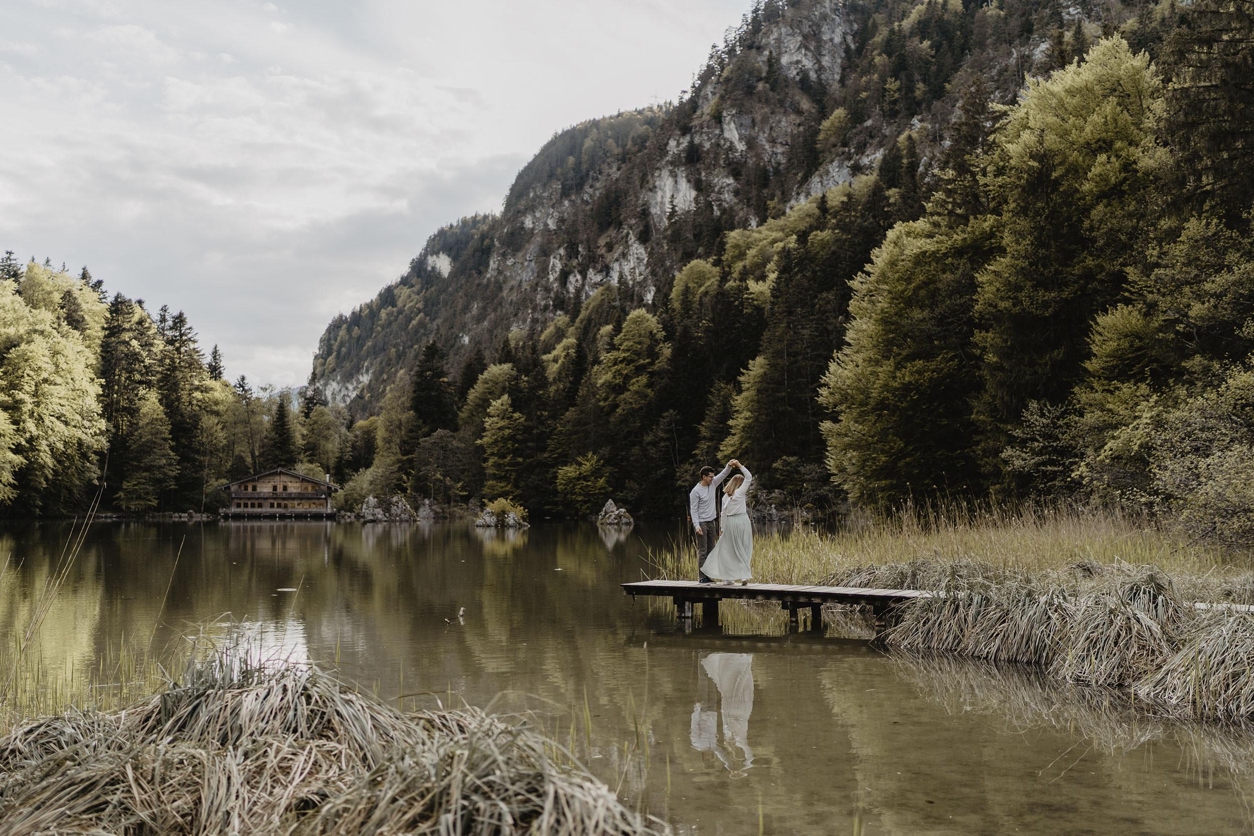 Paarshooting Verlobungsshooting Tirol