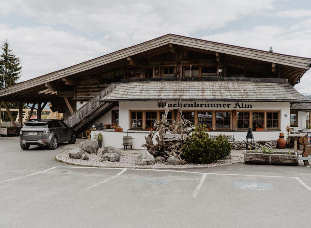Almhochzeit Ellmau Wochenbrunnalm Berghochzeit Tirol