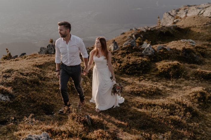 Afterwedding Shooting Tirol Tyrol Mountains Berggipfel