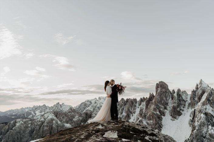 Dolomiten Drei Zinnen Hochzeitsfotograf