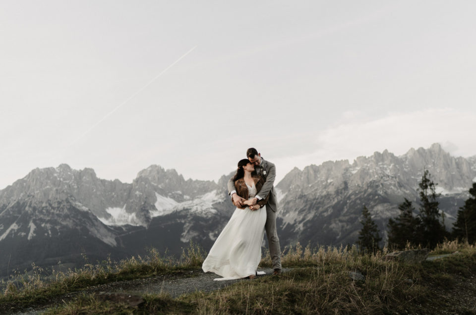 Afterwedding Shooting Ellmau Going Wilder Kaiser Tirol Kitzbühel