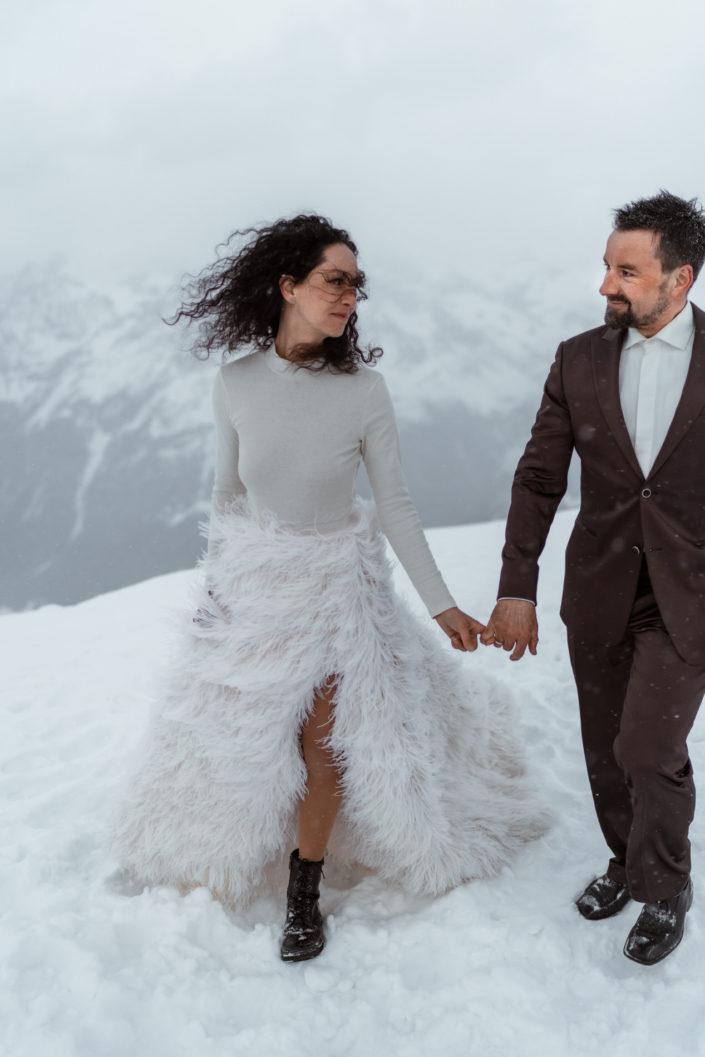 Afterwedding Shooting Ötztal Tirol Sölden Ice Q